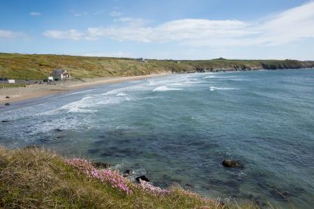 pembrokeshire: Whitesands Bay Pembrokeshire West Wales UK  Stock Photo