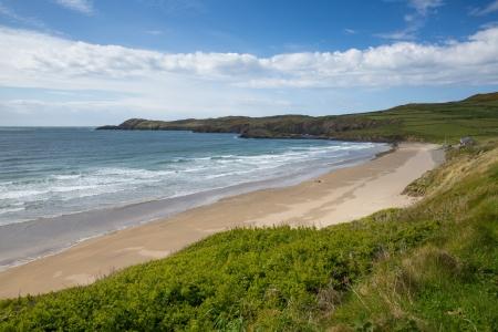 pembrokeshire: Whitesands Bay beach near St Davids Pembrokeshire West Wales UK