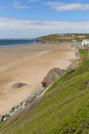 skomer island: Broad Haven beach Pembrokeshire Wales