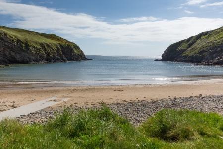 skomer island: Nolton Haven beach Pembrokeshire Wales
