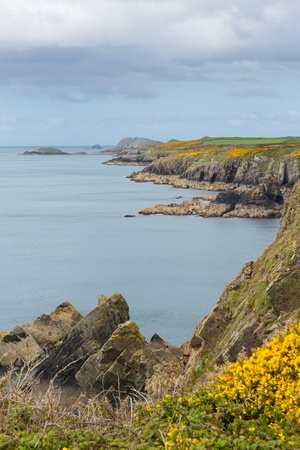 pembrokeshire: Wales coast Pembrokeshire Stock Photo