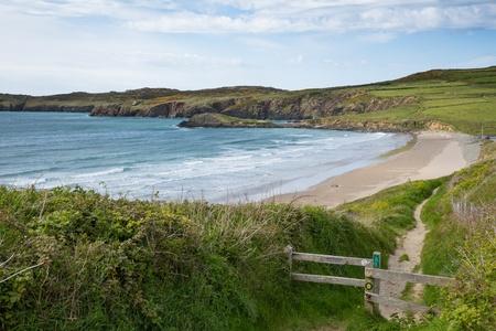pembrokeshire: Wales Coast Path Whitesands Bay Pembrokeshire UK Stock Photo