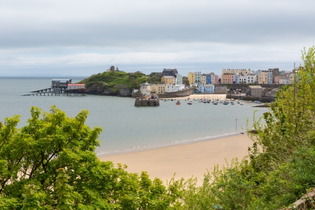 tenby wales: Tenby Wales   Medieval walled fishing town on west side of Carmarthen Bay with great beaches and history  In Welsh known as Dinbych-y-pysgod