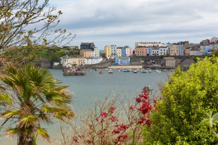great bay: Tenby Wales   Medieval walled fishing town on west side of Carmarthen Bay with great beaches and history  In Welsh known as Dinbych-y-pysgod