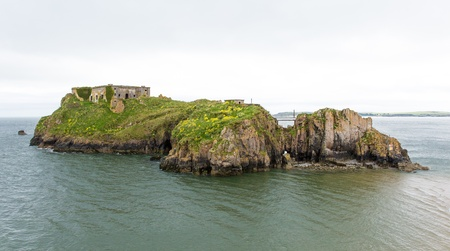 tenby wales: Tenby St Catherine s Island Wales