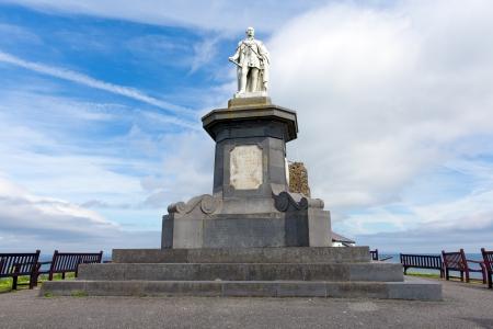 tenby wales: Prince Albert statue Tenby Pembrokeshire Wales