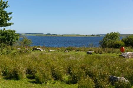 bodmin: Colliford reservoir Bodmin Moor Cornwall England UK Stock Photo