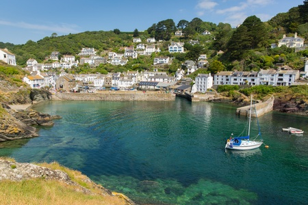 Polperro Cornwall England UK photo