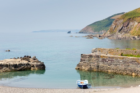 Portwrinkle beach Whitsand Bay near Looe Cornwall England United Kingdom photo