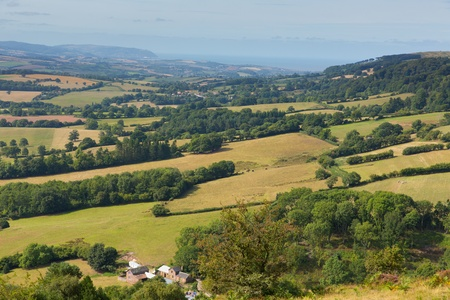 quantock hills: View from Quantock Hills Somerset England