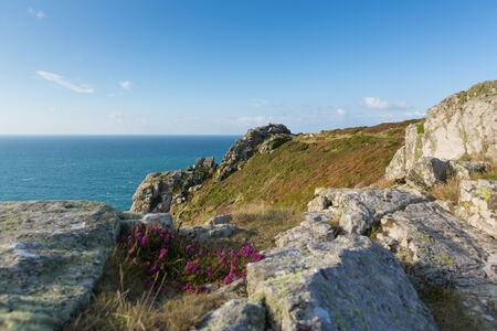 south west coast path: Zennor Testa Cornovaglia Inghilterra Regno Unito vicino a St Ives sulla South West Coast Path sulla Heritage Coast Penwith