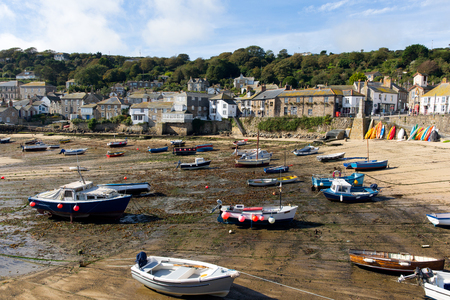 mousehole: British fishing village and harbour Mousehole Cornwall