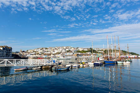 Brixham marina Devon Torbay England UK  photo