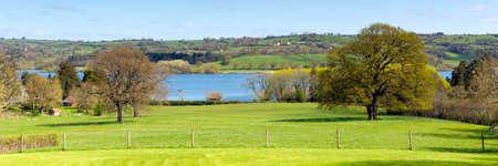 somerset: Blagdon Lake Somerset in Somerset, England Stock Photo