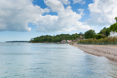 helens: Seagrove Bay near Bembridge and St Helens harbour Isle of Wight England