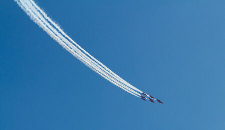 brean down: The Red Arrows jet planes British RAF aerobatic display team