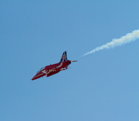 brean: Red Arrows jet Editorial