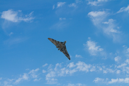 brean: Avro Vulcan bomber used by the British RAF   Editorial