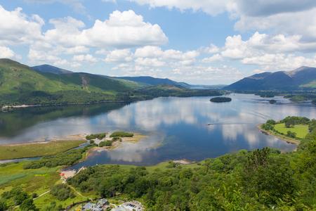 Derwent Water Lake District National Park in Cumbria