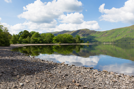 borrowdale: Derwent Water Lake District National Park in Cumbria, England