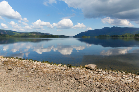 Derwent Water, The Lakes in Cumbria, England photo