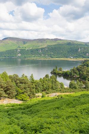 Brandelhow Bay Derwent water Lake District Cumbria England UK Stock Photo