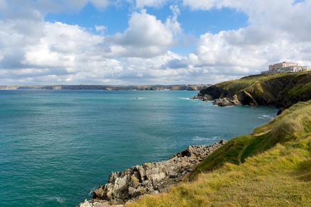 cornwall: Newquay Bay Cornwall England UK