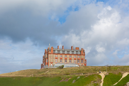 headland: The Headland hotel Newquay Cornwall England UK