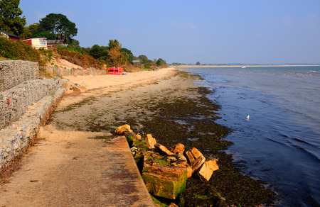 bournemouth: Middle beach Studland Dorset England UK located between Swanage and Poole and Bournemouth