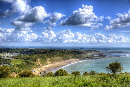 Whitecliff Bay Isle of Wight near Bembridge east of the island