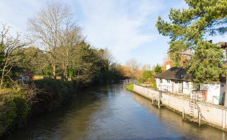 dorset: River Avon Christchurch Dorset England UK