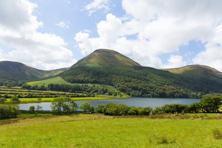 cumbria: Loweswater Lake District Cumbria England UK in summer