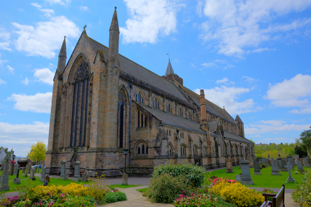 scotish: Dunblane Scotland UK cathedral near Stirling medieval church Stock Photo