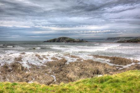 Burgh Island Devon near Bigbury-on-sea hdr