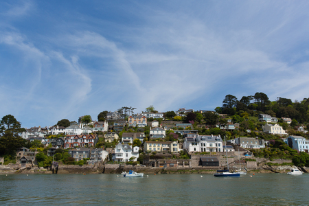 Dartmouth Devon houses historic English naval town