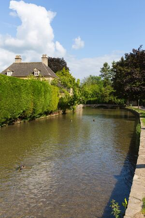 Bourton on the Water Cotswolds Gloucestershire England UK River Windrush