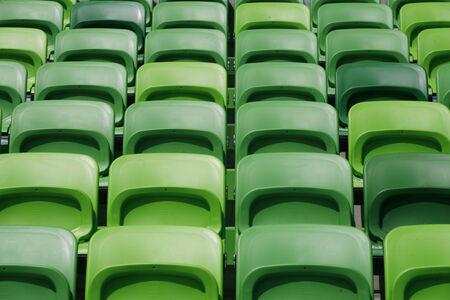 gradas estadio: Gradas vac�as en el estadio