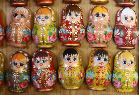matrioshka: Matrioshka  dolls are the most popular souvenirs from Russia