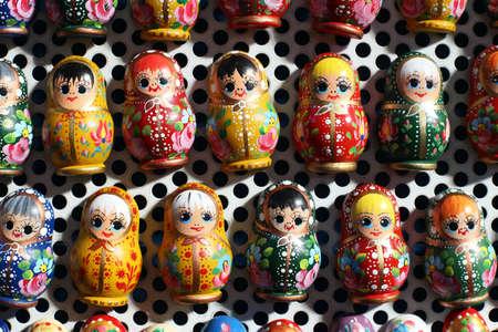 matrioshka: Matrioshka  dolls are the most popular souvenirs from Russia as fridge magnets