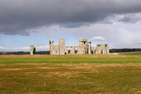 Stonehenge.  Ancient prehistoric stone monument near Salisbury Wiltshire Reklamní fotografie