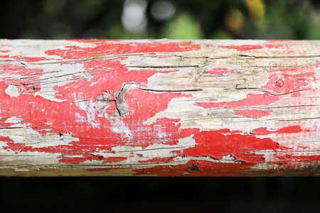 Photo of show jumping poles wooden barriers for jumping horses as a background