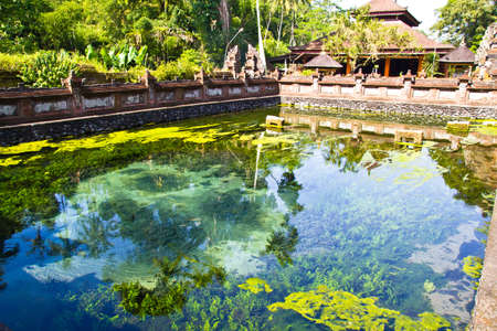 pavillion: Hot sping in Bali Temple