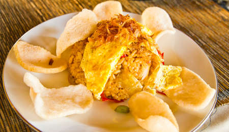 protien: Indonesian fried rice