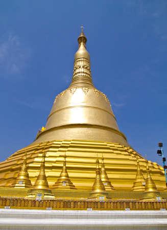 Golden Pagoda in Myanmar Stock Photo - 15731010