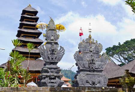 workship: Temple in Bali  Stock Photo