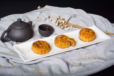 Mid-Autumn Chinese Traditional Mooncake