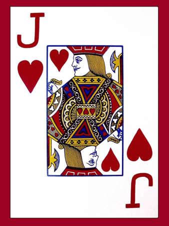 Jack of Hearts 免版税图像