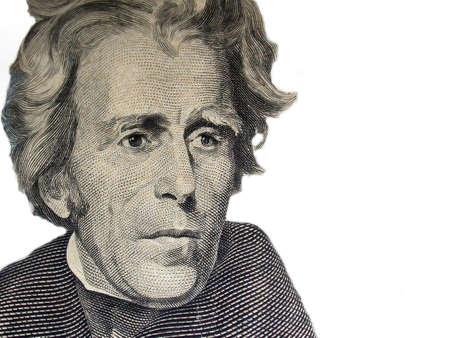 jackson: President Andrew Jackson - $20 - Twenty Dollar Bill
