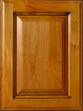 puertas de madera: Cherry Gabinete puerta  Foto de archivo