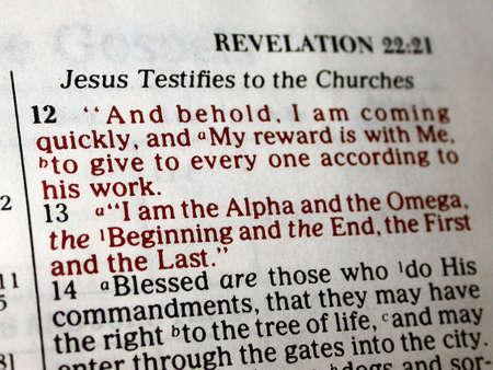 Una revelación de la Escritura